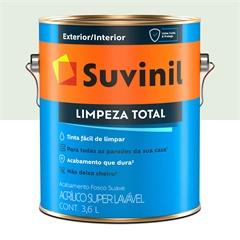 Tinta Acrílica Fosca Suave Limpeza Total Gelo 3,6 Litros - Suvinil