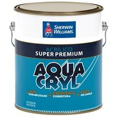 Tinta Acrílica Fosca Super Premium Aquacryl Branca 3,6 Litros - Sherwin Williams
