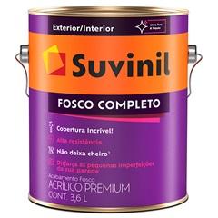 Tinta Acrílica Fosco Areia 3,6 Litros - Suvinil