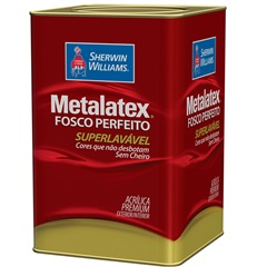 Tinta Acrílica Fosco Mel 18 Litros  - Metalatex - Sherwin Williams
