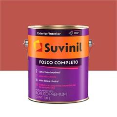 Tinta Acrílica Fosco Tomate Seco 3,6 Litros - Suvinil