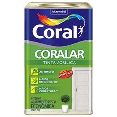 Tinta Acrílica Interno Coralar Pêssego 18 Litros - Coral