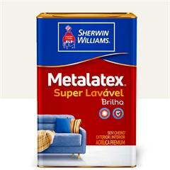 Tinta Acrílica Metalatex Brilho Perfeito Branca 18 Litros - Sherwin Williams