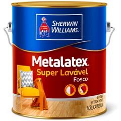 Tinta Acrílica Metalatex Fosco Perfeito Branco 3,6 Litros - Sherwin Williams