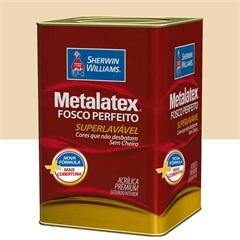 Tinta Acrílica Metalatex Fosco Perfeito Marfim 18 Litros - Sherwin Williams