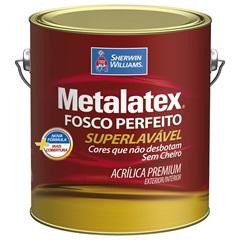 Tinta Acrílica Metalatex Fosco Perfeito Marfim 3,6 Litros - Sherwin Williams