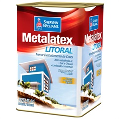 Tinta Acrílica Metalatex Litoral Acetinada Gelo 18 Litros - Sherwin Williams