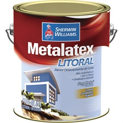 Tinta Acrílica Metalatex Litoral Amarelo Garopaba 3,6 Litros - Sherwin Williams
