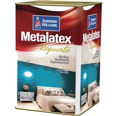 Tinta Acrílica Metalatex Requinte Super Lavável Bianco Sereno 18 Litros - Sherwin Williams