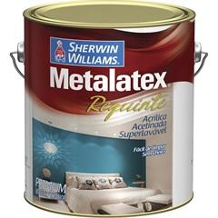 Tinta Acrílica Metalatex Requinte Super Lavável Branca 3,6 Litros
