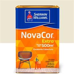 Tinta Acrílica Novacor Extra Standard Fosco Bianco Sereno 18 Litros - Sherwin Williams