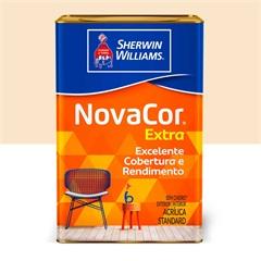 Tinta Acrílica Novacor Extra Standard Fosco Pérola 18 Litros - Sherwin Williams
