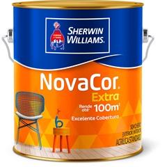 Tinta Acrílica Novacor Extra Standard Fosco Terracota Natural 3,6 Litros - Sherwin Williams