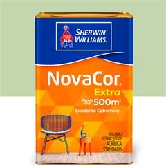 Tinta Acrílica Novacor Extra Standard Fosco Verde Itacaré 18 Litros - Sherwin Williams