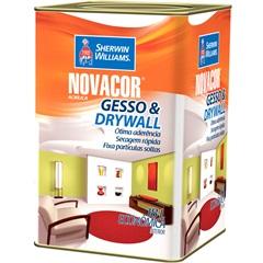 Tinta Acrílica Novacor Gesso & Drywall Branco 18 Litros - Sherwin Williams