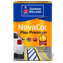 Tinta Acrílica Novacor Piso Mais Resistente Amarelo Demarcação 18 Litros - Sherwin Williams