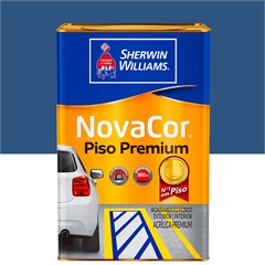 Tinta Acrílica Novacor Piso Mais Resistente Premium Azul 18 Litros - Sherwin Williams