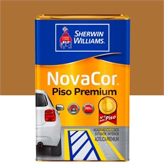 Tinta Acrílica Novacor Piso Mais Resistente Premium Castor 18 Litros - Sherwin Williams