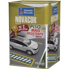 Tinta Acrílica Novacor Piso Mais Resistente Premium Cinza 18 Litros - Sherwin Williams