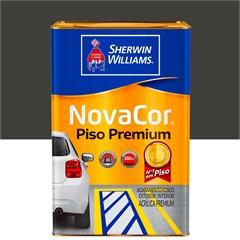 Tinta Acrílica Novacor Piso Mais Resistente Premium Cinza Chumbo 18 Litros - Sherwin Williams