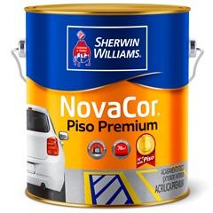 Tinta Acrílica Novacor Piso Mais Resistente Premium Cinza Chumbo 3,6 Litros - Sherwin Williams