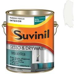 Tinta Acrílica para Gesso E Drywall Branca 3,6 Litros