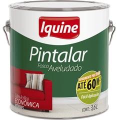 Tinta Acrílica Pintalar Econômica Pérola 3,6 Litros - Iquine
