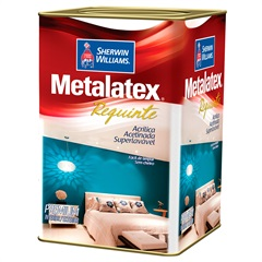 Tinta Acrílica Premium Acetinada Metalatex Requinte Branco 18 Litros - Sherwin Williams