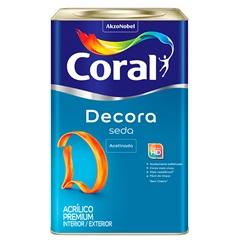 Tinta Acrílica Premium Acetinada Seda Zepelim 18 Litros - Coral