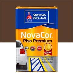 Tinta Acrílica Premium Fosca Novacor Piso Marrom 18 Litros - Sherwin Williams