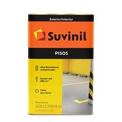 Tinta Acrílica Premium Fosca para Piso Azul 18 Litros - Suvinil