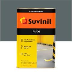 Tinta Acrílica Premium Fosca para Piso Cinza Escuro 18 Litros - Suvinil