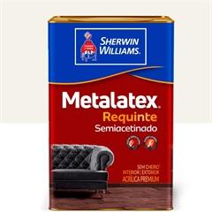 Tinta Acrílica Premium Semiacetinado Metalatex Requinte Branco 18 Litros - Sherwin Williams