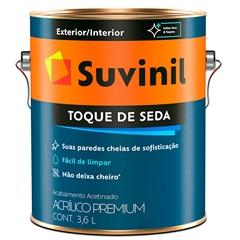 Tinta Acrílica Premium Toque de Seda Palha 3,6 Litros - Suvinil