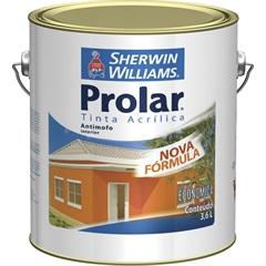Tinta Acrílica Prolar Branco Gelo 3,6 Litros - Sherwin Williams