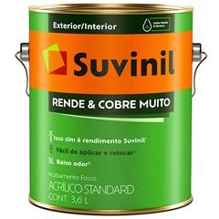 Tinta Acrílica Rende E Cobre Muito Uva Verde 3,6 Litros - Suvinil