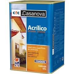 Tinta Acrílica Standard Fosca Branco 18 Litros - Casanova