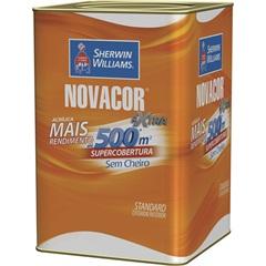 Tinta Acrílica Standard Fosca Novacor Extra Amarelo Sol 18 Litros - Sherwin Williams
