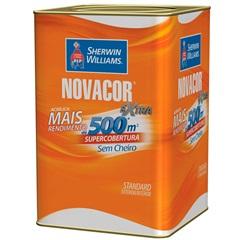Tinta Acrílica Standard Fosca Novacor Extra Branco 18 Litros - Sherwin Williams