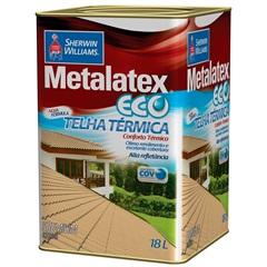 Tinta Brilhante Premium Metalex Eco Telha Térmica Branca 18 Litros - Sherwin Williams