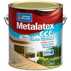 Tinta Brilhante Premium Metalex Eco Telha Térmica Branca 3,6 Litros - Sherwin Williams