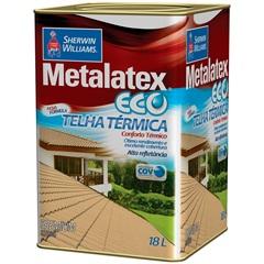 Tinta Brilhante Premium Metalex Eco Telha Térmica Cinza 18 Litros - Sherwin Williams