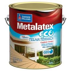Tinta Brilhante Premium Metalex Eco Telha Térmica Cinza 3,6 Litros - Sherwin Williams