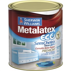 Tinta Eco Esmalte Alto Brilho Marfim 900ml - Sherwin Williams