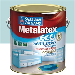 Tinta Eco Esmalte Alto Brilho Platina 3,6 Litros - Sherwin Williams