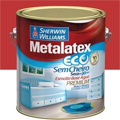 Tinta Eco Esmalte Alto Brilho Vermelho 3,6 Litros - Sherwin Williams