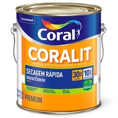 Tinta Esmalte Brilhante Branca 3,6 Litros  - Coral