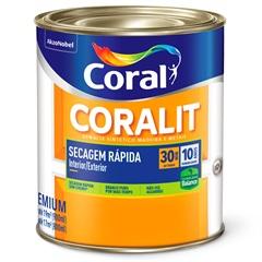 Tinta Esmalte Brilhante Branca 900ml  - Coral