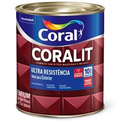 Tinta Esmalte Coralit Acetinado Branco 900ml - Coral