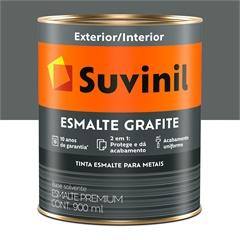 Tinta Esmalte Fosco Grafite Claro 900 Ml - Suvinil